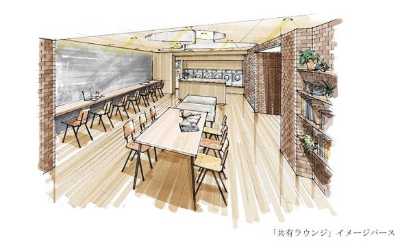 「コワーキングスペース」×「ランドリー」×「宅配型トランクルーム」で新たな暮らしを提案する 『イニシア大森町N'sスクエア』契約開始(ニュースリリース)