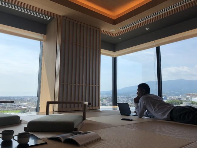 富士山三島東急ホテル 富士山を眺めながら「畳でゴロゴロ ワーケーション」