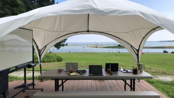 【葛西臨海公園】新しいミーティングスタイル「オープンエアミーティング」をご提案